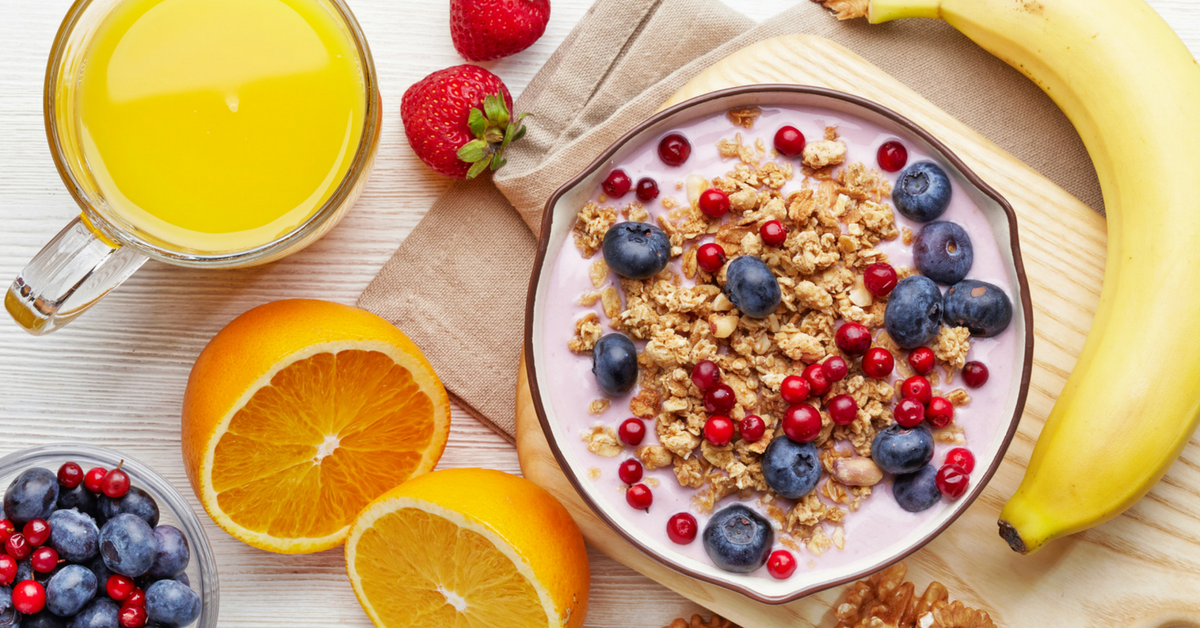 list of very healthy and energetic breakfasts of morning sloco